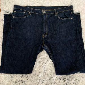 Men's Levi's 513 Dark Wash Straight Leg